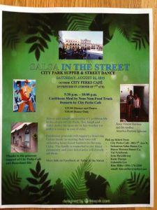 salsa inthe street poster